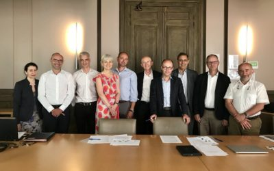 8 partenaires réunis pour lancer l'Association France gaz renouvelables