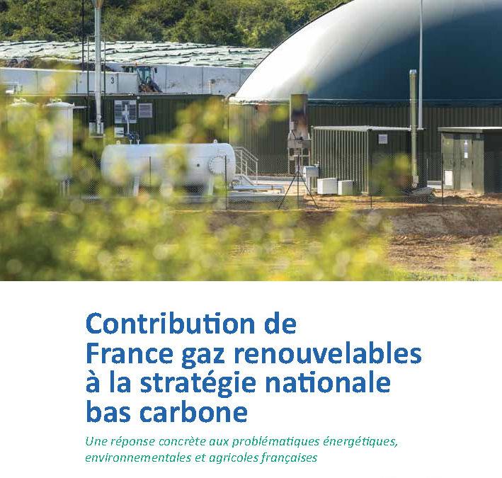 Contribution à la stratégie nationale bas carbone