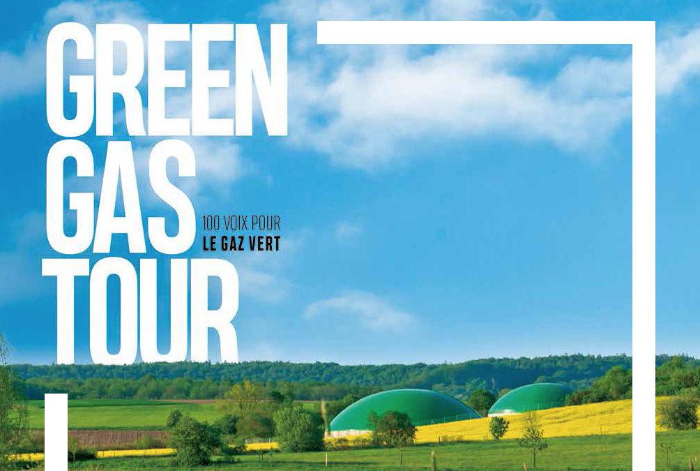 Green Gas Tour : 25 témoignages pour le biogaz