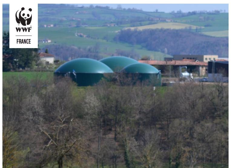 WWF publie un rapport sur la «Méthanisation agricole : quel cadre de durabilité pour cette filière ?»