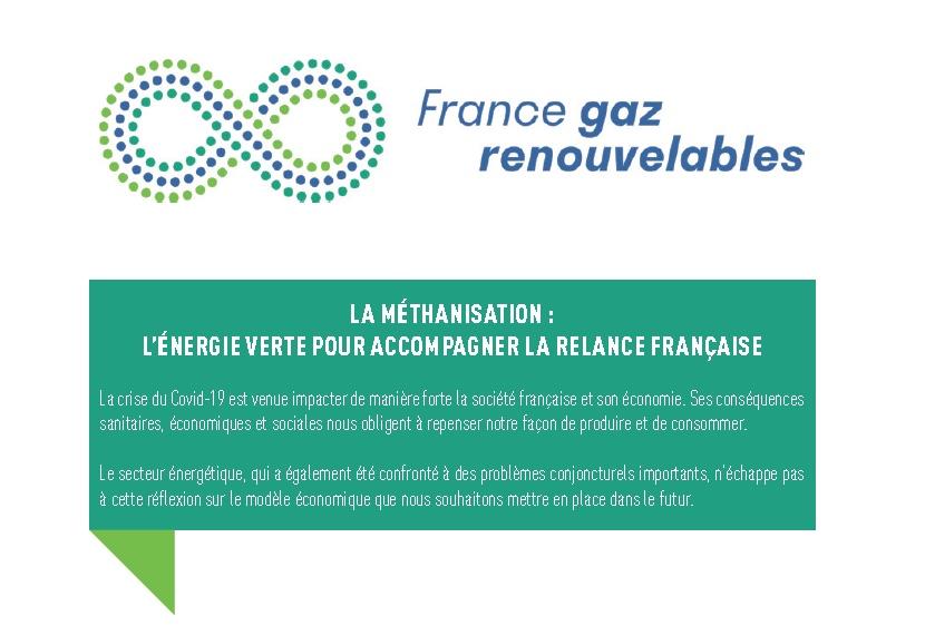 La méthanisation : l'énergie verte pour accompagner la relance française